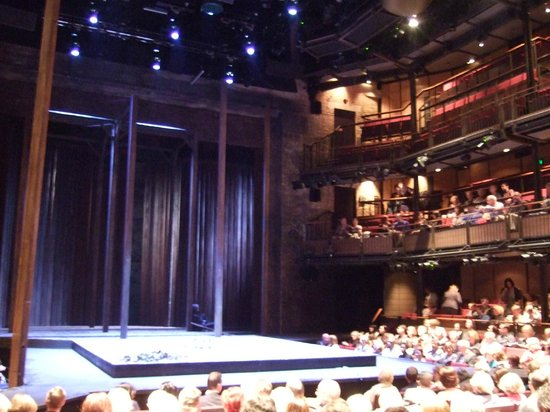 The Royal Shakespeare Theatre: 劇場内