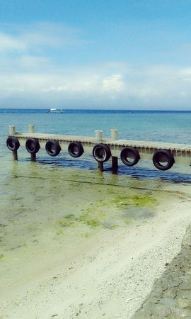 Dolphin-House Resort-SPA-Diving: Their small bridge if u want to do the yoga exercise in the morning u can do it here very relaxi