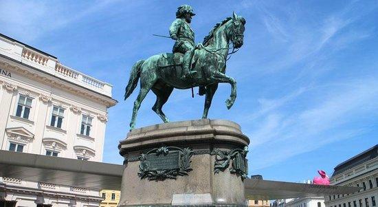 Albertina: Мужик на коне (Erzherzog Albrecht)