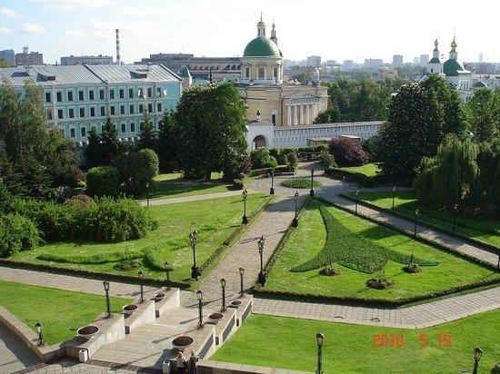 Danilovskaya Hotel: вид с окна
