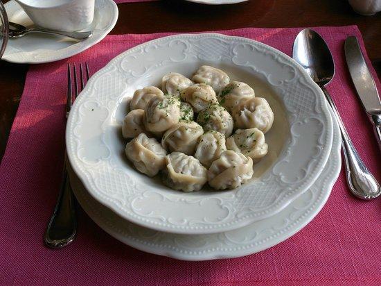 Café Pushkin : Dumplings