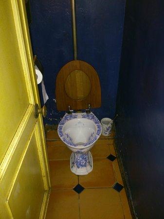Café Pushkin: Ornate toilets!!