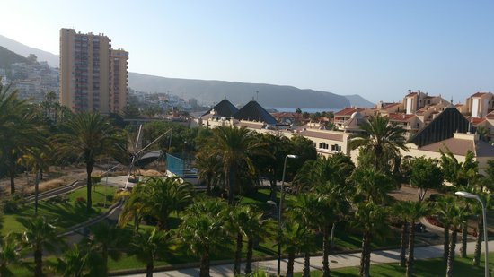 Aparthotel Parque de la Paz : Balcony view