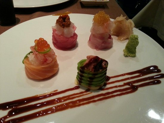 Basara Milano - Sushi Pasticceria : 4 pasticcini creati dal Sushiman Hiro!