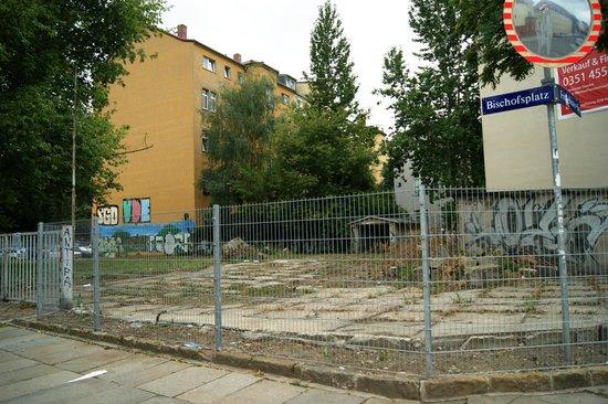 Tryp by Wyndham Dresden Neustadt: Перекресток Fritz-Reuther-Strasse и Bischofsplatz