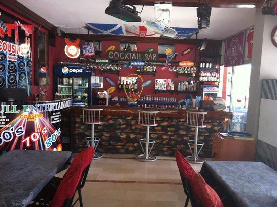 Cousins Steakhouse FUN&PUB : Best bar in mamaris
