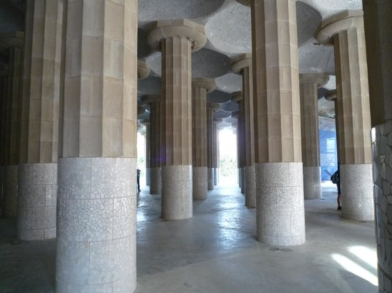 Park Guell: 柱