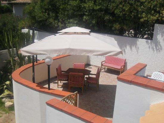 B&B Villa Matari : Giardino interno