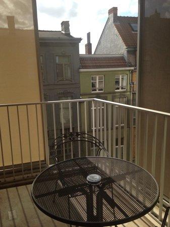 Sandton Grand Hotel Reylof: View from balcony. Room 365.