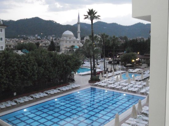 Julian Club Hotel: View from our balcony