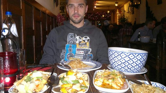 Bird Thai Restaurant: Enorme menù da 27,50€