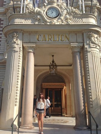 InterContinental Carlton Cannes : The magnificent Belle Epoque Facade