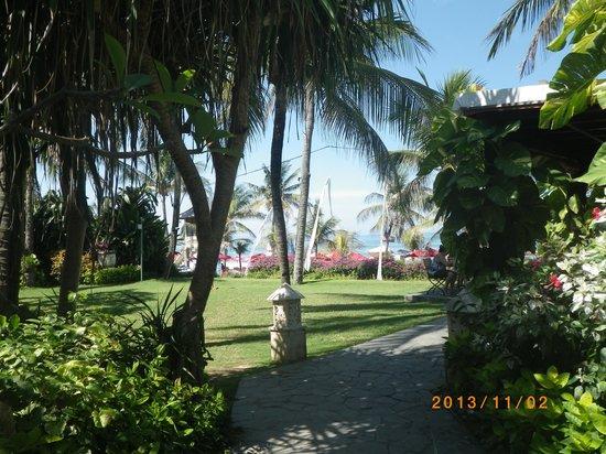 Bali Mandira Beach Resort & Spa: 海が目の前です
