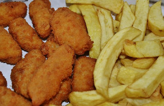 "North Bay Fisheries Scarborough: ""And I'll try the Scampi too"""