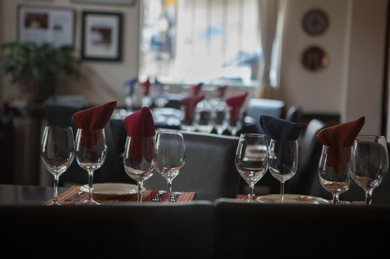 Restaurante Tandory: Сервировка
