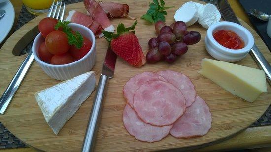Gramarye Suites B&B: Breakfast (home made chilli jam very nice)