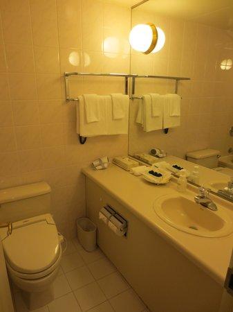 Loisir Hotel Toyohashi: バスルーム(トイレ・洗面台)