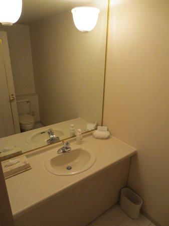Loisir Hotel Toyohashi: バスルームとは別にあるトイレ