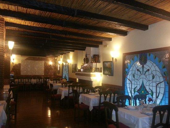 La ruta de la Alpujarra: Restaurante