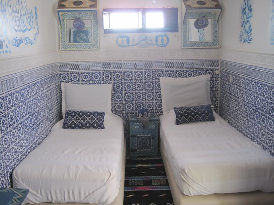 Riad Andalla: Comfortable bedroom