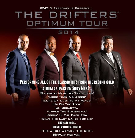 Royal Hippodrome Theatre: Drifters - 21 June 2014!!