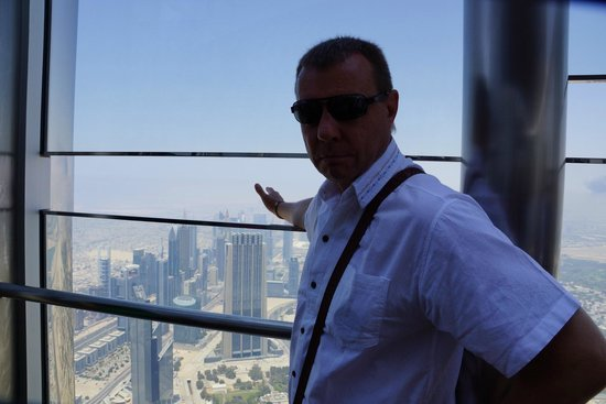Panorama Grand Hotel: At the Top of Burj Khalifa