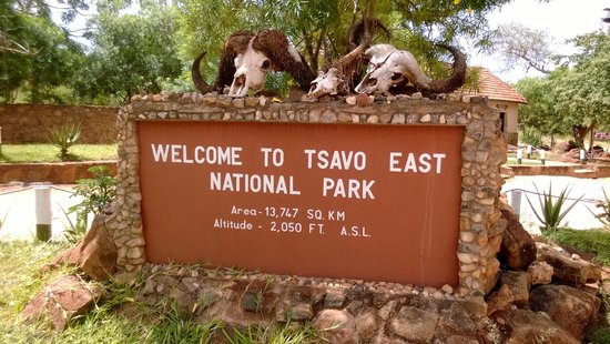 Tsavo East: Entrace Voi Gate