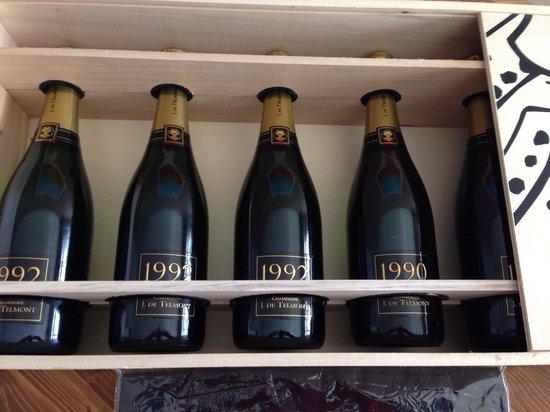 Osteria Bisteccheria Vacca Ladra : Champagne