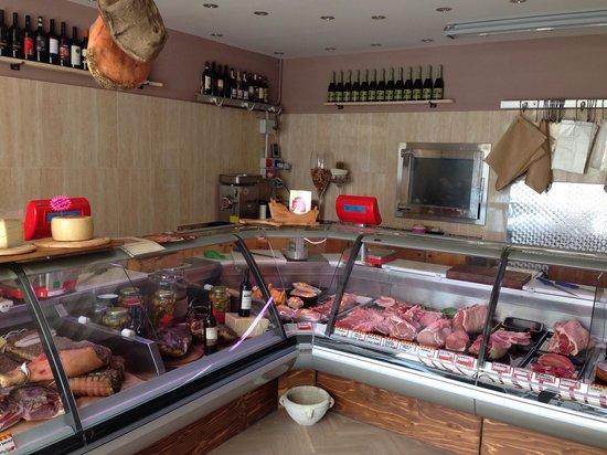 Osteria Bisteccheria Vacca Ladra : Mangiare davanti al banco