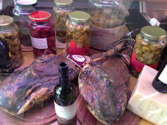 Osteria Bisteccheria Vacca Ladra : Prosciutto patanegra