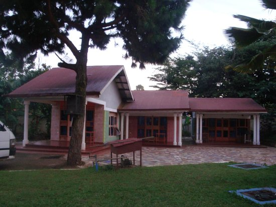 Entebbe Backpackers: three of our rooms
