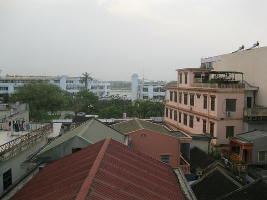 Hue Four Seasons Hotel: View from the terrace