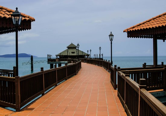 Berjaya Langkawi Resort - Malaysia: Entry walk to Pahn Thai restaurant