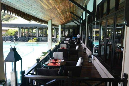 The Taaras Beach & Spa Resort: Asean Cafe