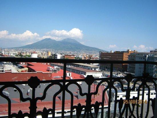 Starhotels Terminus: View from my balcony.