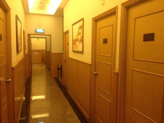Hou Kong Hotel: 酒店走廊