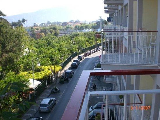 Hotel La Meridiana: view from balcony
