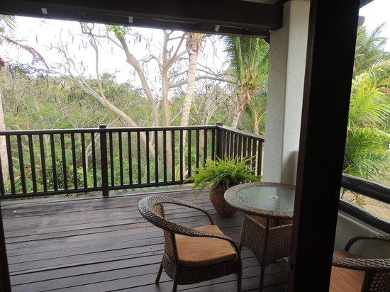 Sugar Cane Club Hotel & Spa : Room balcony