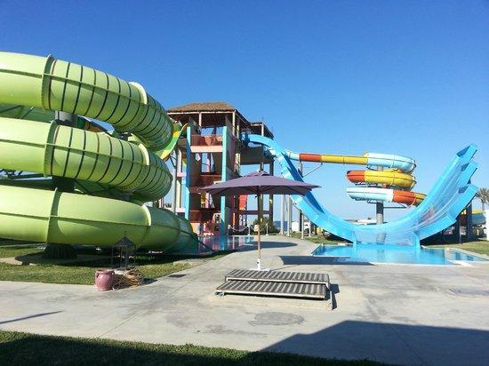 Thalassa Sousse Resort & Aquapark : Vue de la chambre