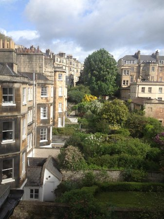 The Halcyon Hotel Apartments: View from our bedroom