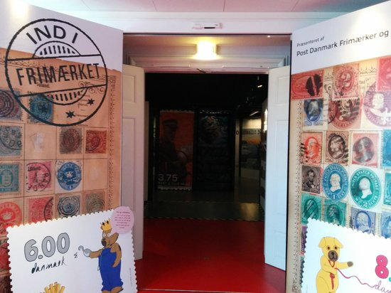 Post & Tele Museum: Stamp wall