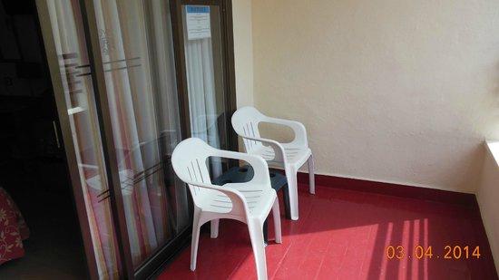Presidente Hotel: balkon