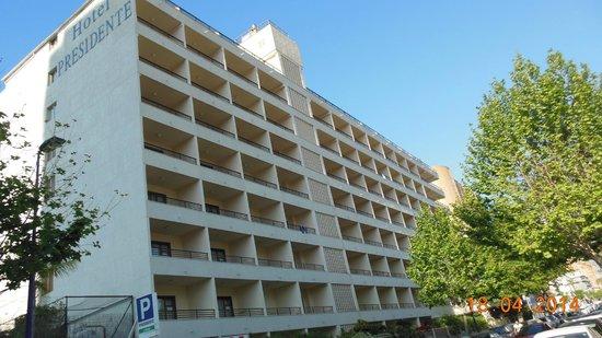 Presidente Hotel: achtergevel