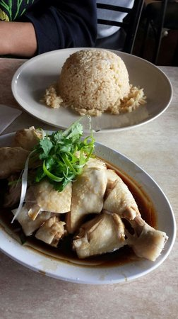 Bullcreek Chinese Restaurant: Hainan Chicken Rice