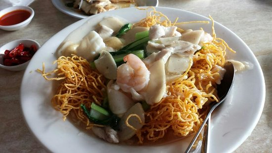 Bullcreek Chinese Restaurant: Combination Crispy Noodle