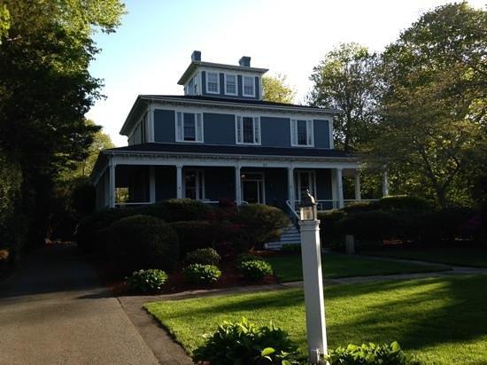 the beautiful Captain's Manor Inn!