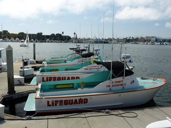 Fisherman's Village: Lifeguard boats