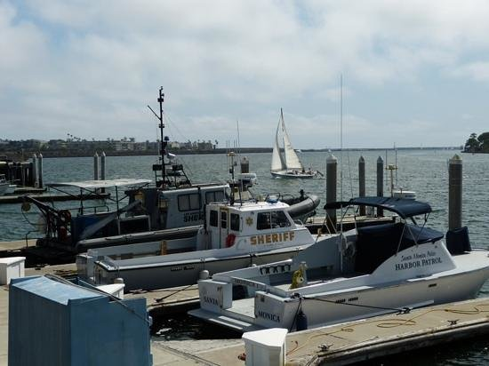 Fisherman's Village: Sheriff boats