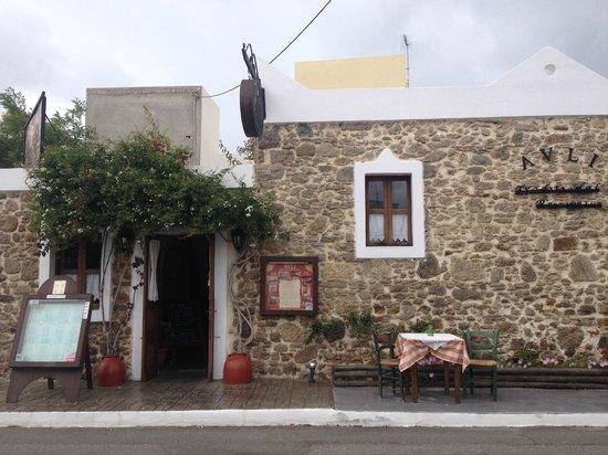 Avli Restaurant : outside view