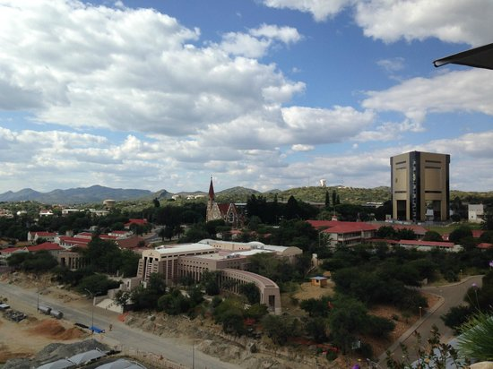 Hilton Windhoek: View from the Pool Deck
